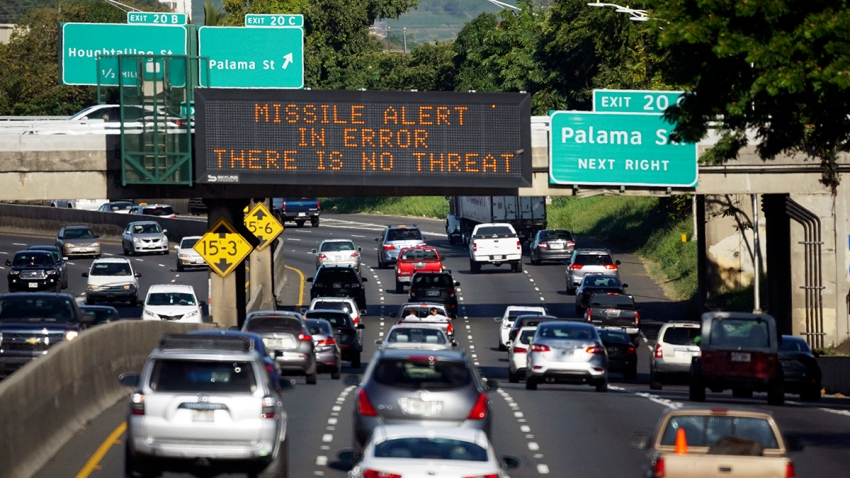 Hawaii Mistaken Missile Alert