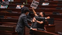 Worrying Over Future, Hong Kong Defies Ban to Mark Tiananmen