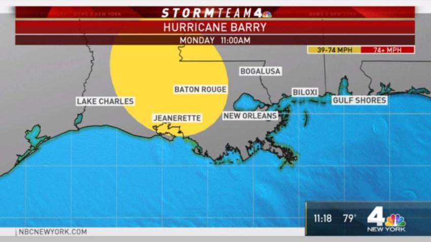 Hurricane Barry July 13