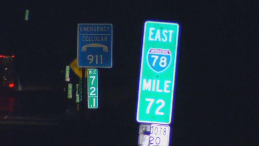 I-78 Mile 72