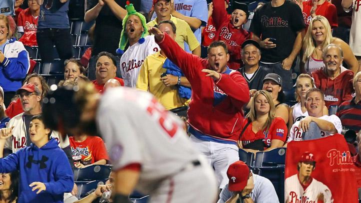 Jayson Werth Booed Phillies Fans
