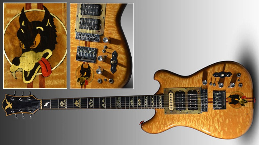 Jerry Garcia Wolf Guitar