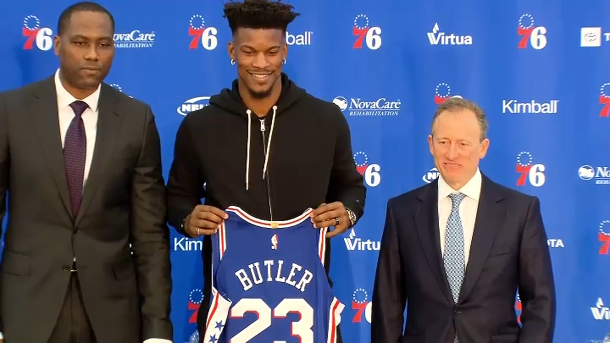 Sixers Introduce Jimmy Butler