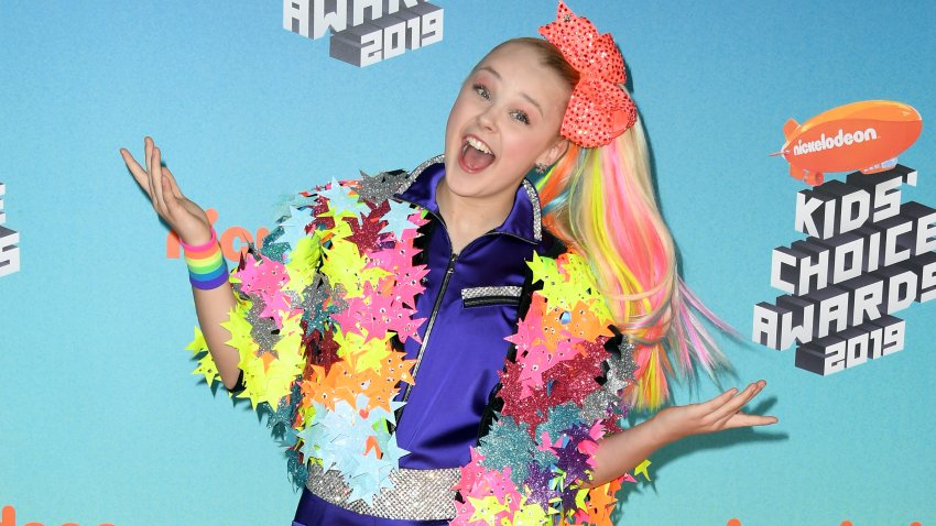 In this March 23, 2019, file photo, JoJo Siwa attends Nickelodeon's 2019 Kids' Choice Awards at Galen Center in Los Angeles, California.