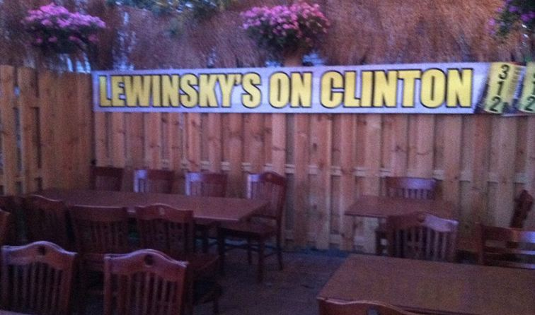 Lewinskys on Clinton