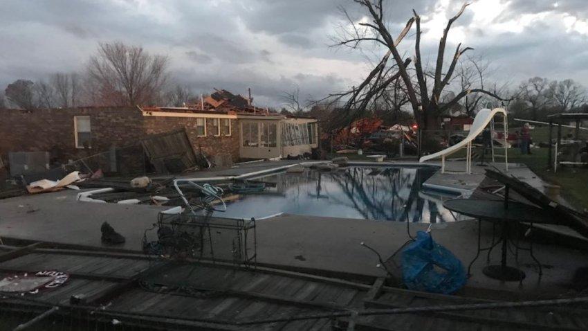 Limestone Sheriff Tornado Damage 2