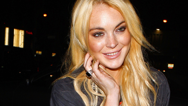 Lohan - SNL - March 2012