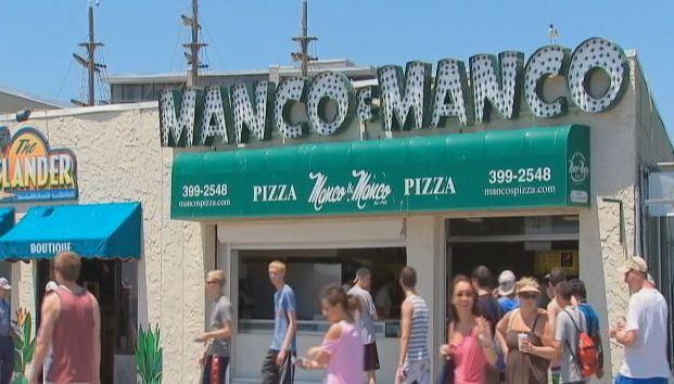 MAnco and Manco Pizza Boardwalk