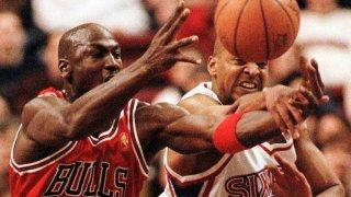 Michael Jordan Scott Williams