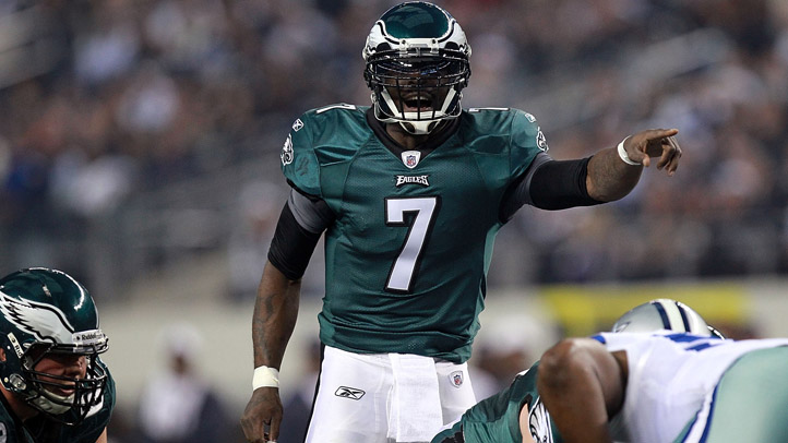 Michael Vick Eagles Cowboys.