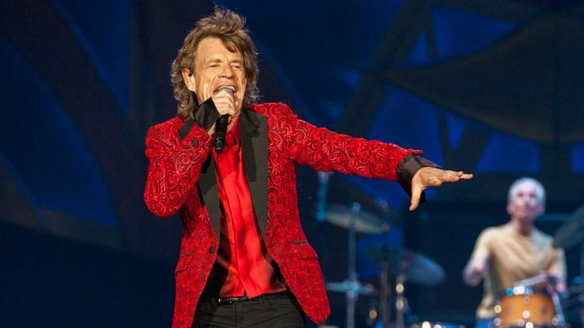 Grammywatch Mick Jagger
