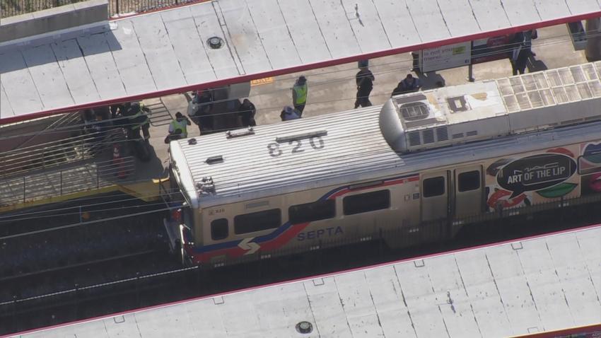 Minor Train Collision North Philly _28884313