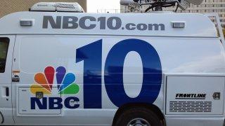 NBC10 Logo NBC10 Van
