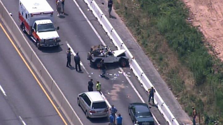 NE Extension Jeep Crash