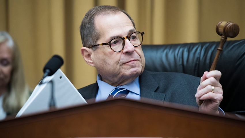 In this Sept. 12, 2019, file photo, Chairman Jerrold Nadler, D-N.Y., conducts the House Judiciary Committee markup titled Resolution for Investigative Procedures.
