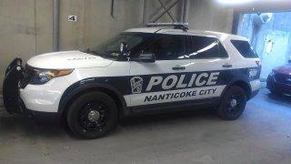 Nanticoke Police Cruiser WBRE