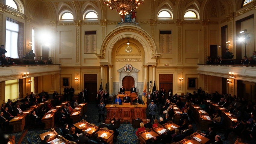 New Jersey NJ Statehouse