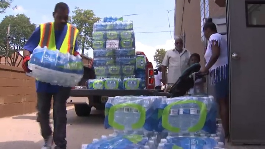 Newark Bottled Water Drive NJ