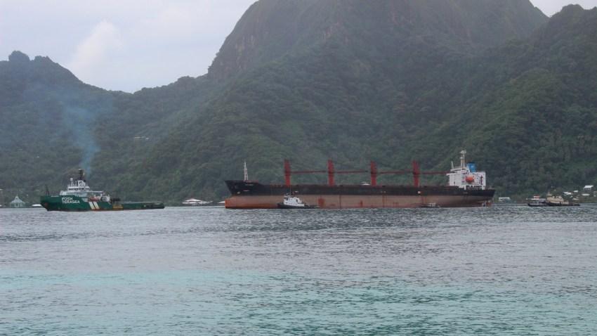 North Korea Cargo Ship
