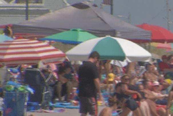 OCean City Beach Spreading