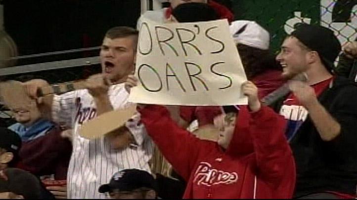 Orr's Oars Phillies Fans
