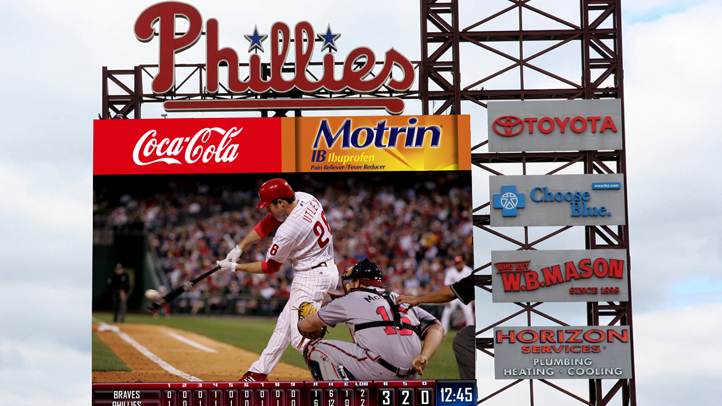 PHI Phillies New Video Board