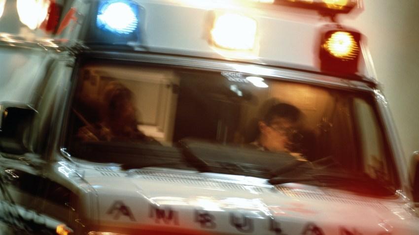 PHI ambulance closeup