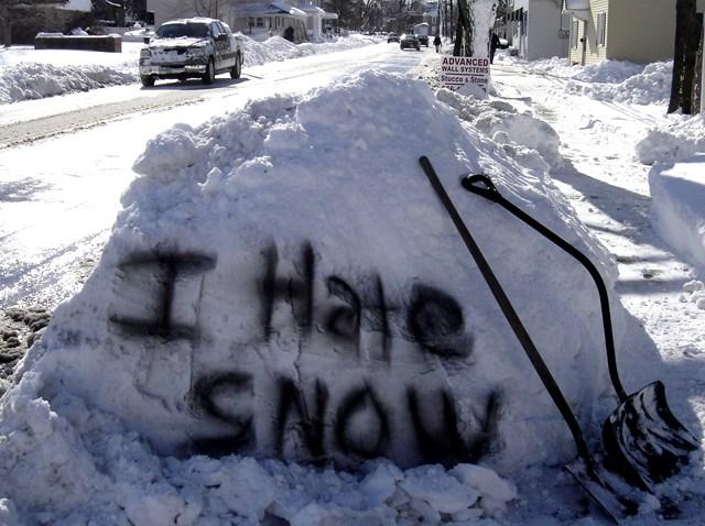 PHI i hate snow