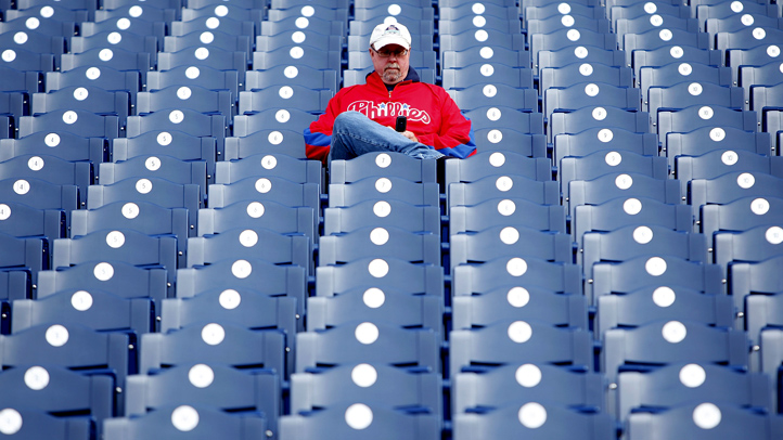 Lonely Phillies Fan