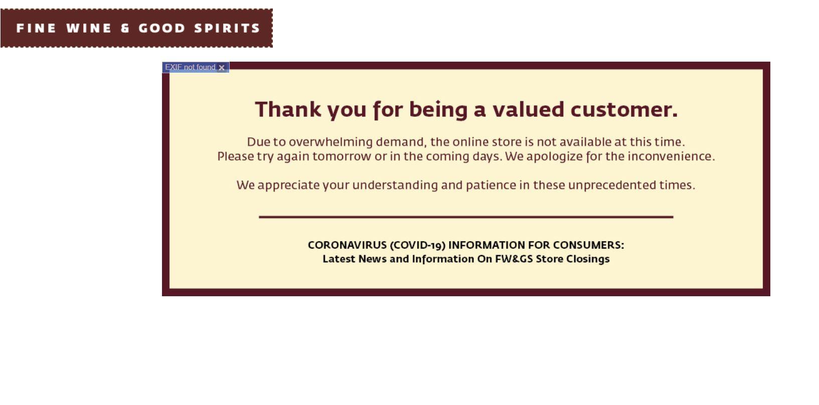 Pa. Liquor Stores Restart Online Sales But Throttle on Site Means Few Get Through