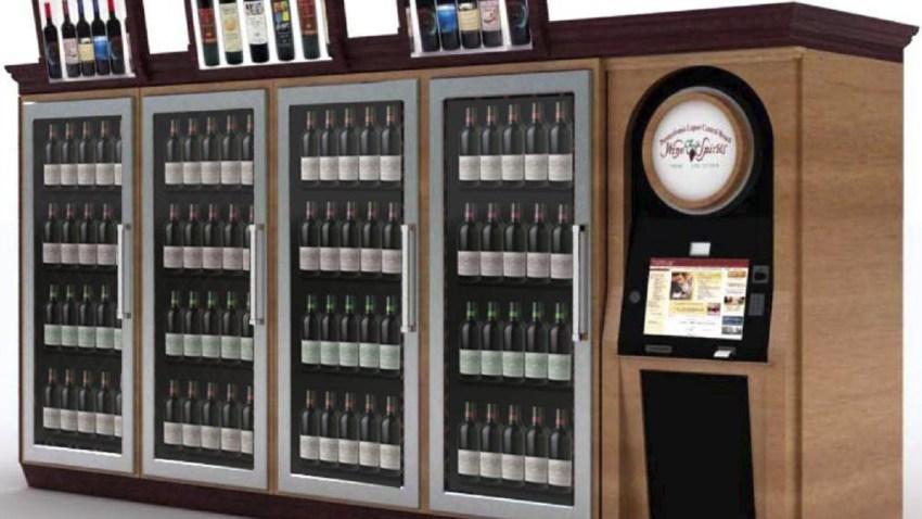 Pa wine kiosk