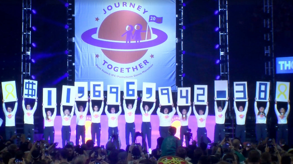 Penn State Students Raise More Than $11 Million for THON