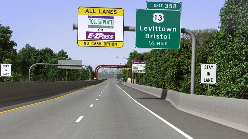 Pennsylvania Turnpike Tollless No Toll Gantry