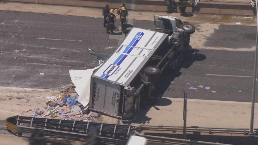Penske Rental Truck I95 Crash