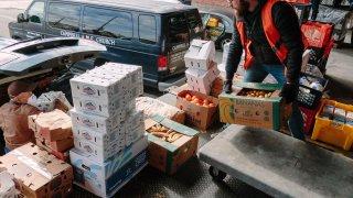 cajas de comida