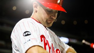 Philadelphia Phillies utilityman Phil Gosselin