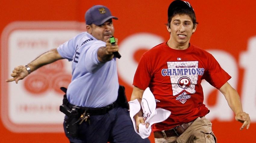 Consalvi Taser Phillies Fan