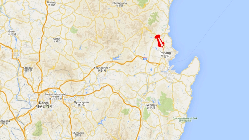 Pohang-Earthquake
