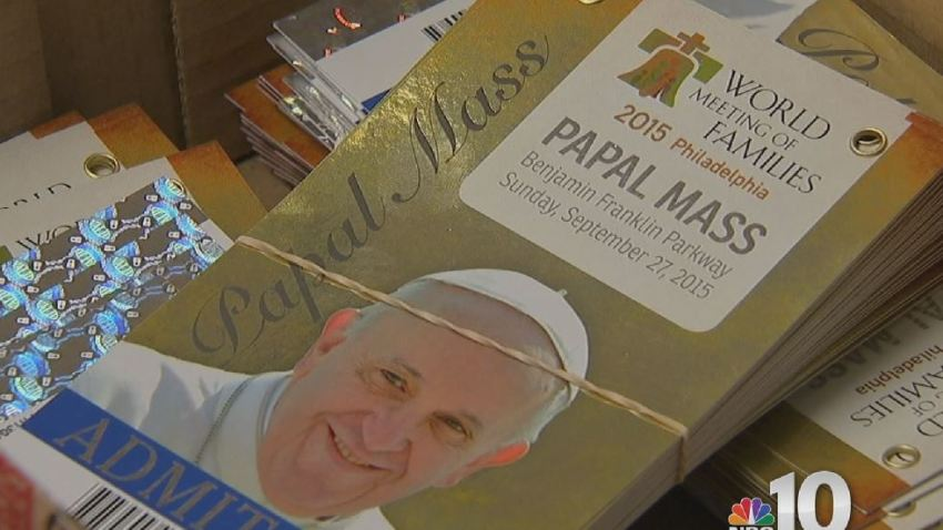 Pope Francis Papal Pass Mass
