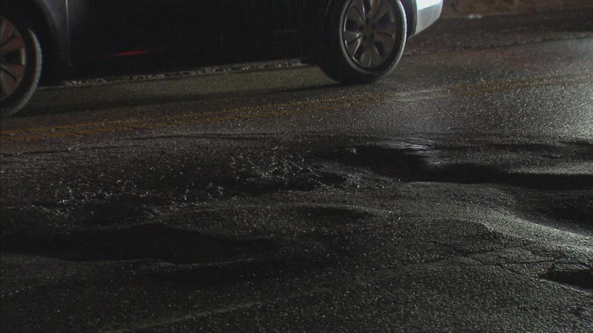 Pothole Problems Roads Pennsylvania