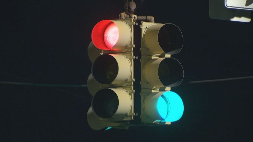 Red Light Green Ligh Generic Traffic Light Ridge Avenue
