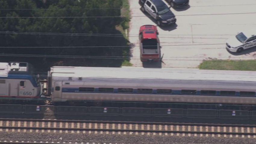 Ridley Park Amtrak Train Person struck