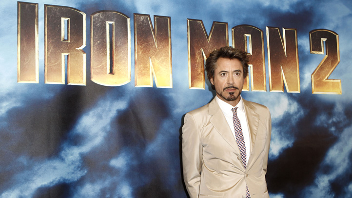 Iron Man 2 Photo Call