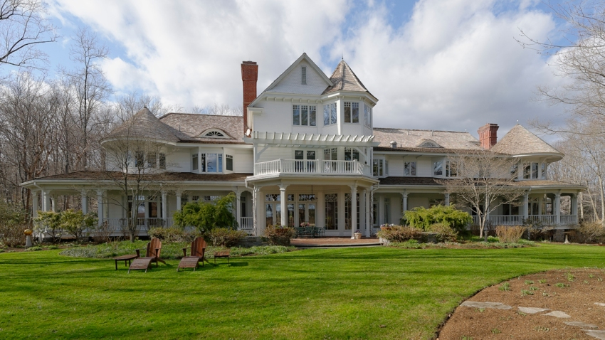 Ron Howard Greenwich Armonk house main