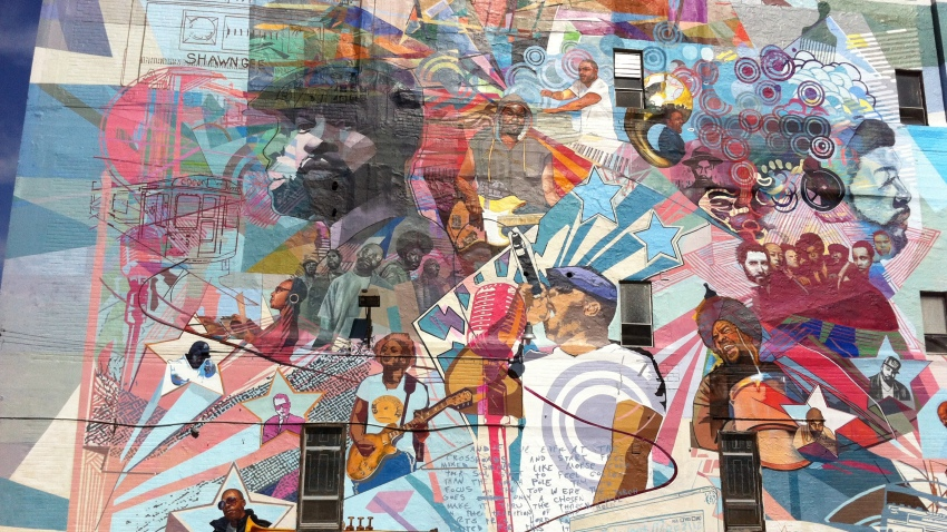 The Roots Mural