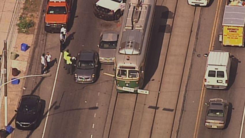 Route 15 SEPTA Trolley Crash