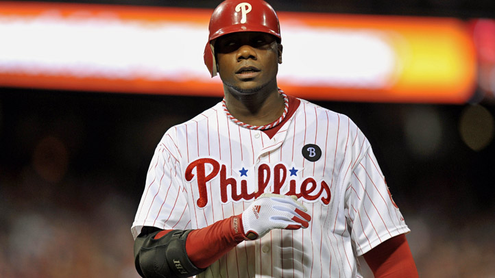 Ryan Howard Frustrated