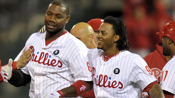 Phillies Celebrate Ryan Howard Michael Martinez