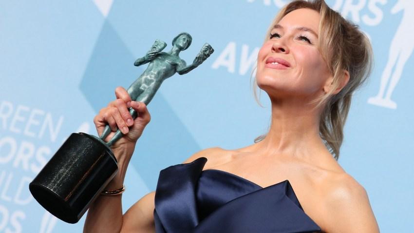 SAG Awards 2013: Jennifer Lawrence, Anne Hathaway Look ... |Motion Actors Guild