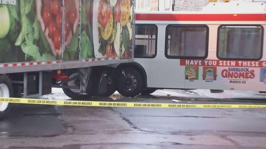 SEPTA Bus Tractor Trailer Crash